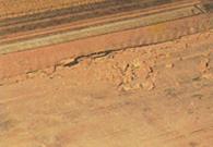 敷居・床板の被害